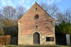 Sint-Elooiskapel, Merelbeke (Erf-goed.be) Tags: geotagged kapel oostvlaanderen merelbeke archeonet kwenenbos sintelooiskapel geo:lon=37222 brandegemsham geo:lat=509846