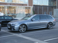 BMW 535d Touring M Sport F11 (nakhon100) Tags: cars sport wagon estate m bmw f11 touring stationwagon 5series 535d 5er