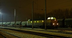 Verschiebebahnhof Bettemburg (p_jp55 (Jean-Paul)) Tags: winter night train nacht hiver luxembourg nuit luxemburg cfl bettembourg lëtzebuerg diesellokomotive cflcargo bettemburg beetebuerg serie1800