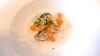 Sánchez Romera Style (2015) (encantadisimo) Tags: ostra albahaca vainilla caldo salmon