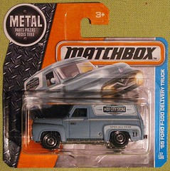 1955 Ford F-100 Delivery Truck (streamer020nl) Tags: matchbox thailand mattel 2016 diecast metal 1955 ford panel delivery truck van mbx mbxcitystore 11