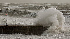 Stormy Seas (dave.thediver) Tags: storm sea ocean waves pier jetty power cornwall porthleven