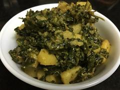Aloo Methi ki Sabji (vegibites) Tags: aloo methi fenugreek leaves potato indianfood indianfoodblogger vegibites