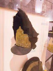 Officer's fur helmet