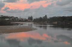 Sun Set Cudgen Creek Kings Cliff NSW (andrewdavis15) Tags: northernriversnsw kingscliff cudgencreek