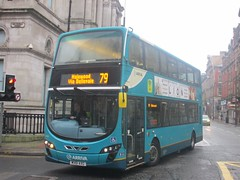 Arriva North West 4466 MX61AXG Victoria St, Liverpool on 79 (1280x960) (dearingbuspix) Tags: arriva arrivanorthwest mx61axg 4466