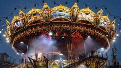 Ile de Nantes, Carrousel (carayou) Tags: manège nuit parcdeschantiers nantes carrousel iledenantes