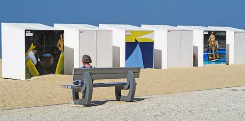 """Ca Bin Art"" Une exposition culturelle à Koksijde (Coxyde) Belgium"