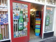 Jolly Supermarket (Quetzalcoatl002) Tags: supermarket jordaan amsterdam storefront entrance baskets colorful beer heineken willemsstraat shopping