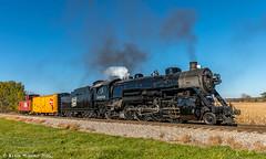 Homeward Bound (kdmadore) Tags: steamlocomotive steam soo1003 soo train railroad wisconsinsouthern wsor mikado sooline steamengine