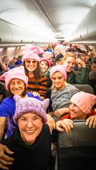 2017.01.20 Alaska Air Flight 6 in Pink LAX-DCA 00058