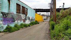 Pittsburgh, Spring Way (real00) Tags: pittsburgh urbanlandscape decay rustbelt