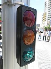 2016 Perth Tour - Braums mini cyclist signal (RS 1990) Tags: perth westernaustralia wa australia december 2016 tour holiday braums trafficlight signal mini cyclist
