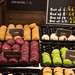 Macarons: Blackcurrant, Latte & Pistachio