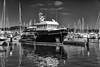 jlvill 459  Talla XXL  b&w (jlvill) Tags: blancos negros blanconegro monocolor monocromo yates barcos embarcaciones puertos reflejos nautica navegación bw 1001nights 1001nightsmagiccity