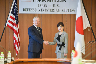 U.S. Secretary of Defense meets with Japanese Defense Minister