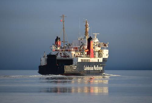 MV Isle of Arran in Brodick Bay