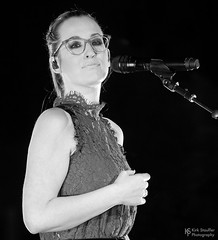 Ingrid Michaelson @ Moore Theater (Kirk Stauffer) Tags: kirk stauffer photographer nikon d5 adorable amazing attractive awesome beautiful beauty charming cute darling fabulous feminine glamour glamorous goddess gorgeous lovable lovely perfect petite precious pretty siren stunning sweet wonderful young female girl lady woman women live music tour concert show stage gig song sing singer singing vocals vocalist perform musician band lights lighting indie pop long brown hair brunette redhead ginger model tall short fashion style portrait photo smile smiling glasses black white bw