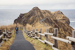 A long walk to the tip of the cape (Chai Yen) Tags: cape kamui capekamui hokkaido travel travelphotography hike autumn wanderlust traveljapan japan naturallandscape