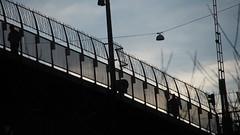 Bridge walkers (mpersson60) Tags: stockholm bridge bro outdoor utomhus silhuett