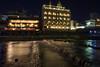Rivière en Escalier (StephanExposE) Tags: japon japan asia asie kyoto gion riviere river eau water night nuit poselongue longexposure trépied lumière light reflet reflect canon 600d 1635mm 1635mmf28liiusm