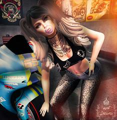 My destiny (Thyaralove exonar) Tags: bubble deliriumstyle joplino phoenix suicidedollz tattomania vision