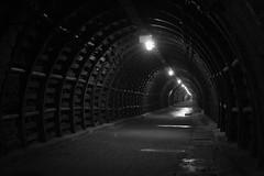 old mine (jkatanowski) Tags: tunnel underground poland mine bw canon sigma 1835mm