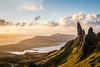 Sunkissed Storr (tristantinn) Tags: storr skye scotland landscape nature rock golden hour morning sunrise highlands cullin hills mountains