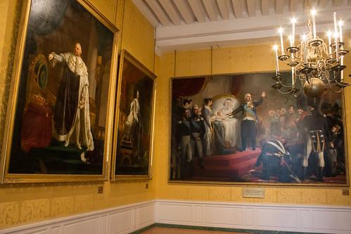 La salle des Bourbons au Château de Chambord