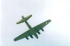 """B-17G Flying Fortress G-BEDF """"Sally B"""" B-17 Preservation (Richard.Crockett 64) Tags: boeing b17 flyingfortress gbedf sallyb b17preservationltd tedwhite ellysalingboe usaaf unitedstatesarmyairforce ww2 worldwartwo billericay essex bomber 2003"""
