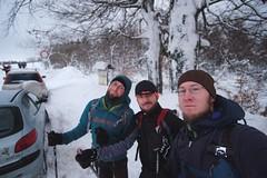 Frühe Vögel (all martn) Tags: schnee snow winter langlauf langlaufen cross country skiing ski hohe tour erzgebirge osterzgebirge krusne hory ore mountains