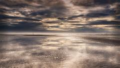 Nothing than .... (Stefan Sellmer) Tags: sunshine november d750 landscape reflections water fanoe denmark mood seascape waddensea northsea outdoor clouds fanø dänemark dk