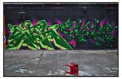 GRAFFITI by GEMZ & SPORE (StockCarPete) Tags: graffiti spore gemz streetart londonstreetart spraycanart aerosolart stockwellhalloffame wallart