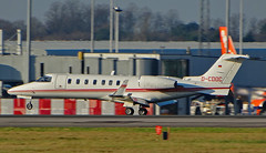 D-CDOC Learjet 45 (SteveDHall) Tags: aircraft airport aviation airfield aerodrome aeroplane airplane ringway manchester manchesterairport 2017 biz bizjet businessjet executivejet corporatejet privatejet lear learjet45 learjet lj45 dcdoc