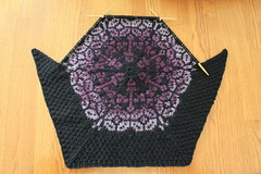 Hex 8 #1 (ChaucerCat) Tags: knit knitting yarn ravelry persiandreams blanket kal esk2017kalpersiandreams teampeppermintpony hex