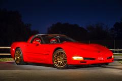 Forgestar (Jesse James Allen) Tags: forgestar corvette c5r red cars automobile