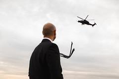 (Jamie Fyson Howard) Tags: babice lotnisko airport warsaw hitman streetphotography wet poland polska sunset helicopter chopper bemowo military army