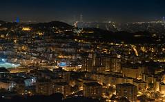 Barcelona Skyline @ night