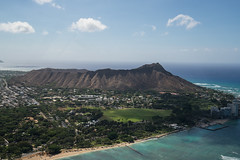 Saturday - Diamond Head from the Helicopter