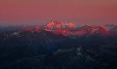 Hochalmspitze 3360m (ernst.weberhofer) Tags: sunrise sonnenaufgang morgenlicht sonnblick hocharn hochalmspitze grosglockner goldbergspitze giesenerhütte