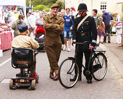 IMG_0579 (Yorkshire Reckless & Proud) Tags: camp tractor bus car bike bicycle hospital soldier army fire dance jeep wwii north helmet 1940 navy engine police sailor jive airforce reenactment raf yanks paras thoresby wraf policcecar