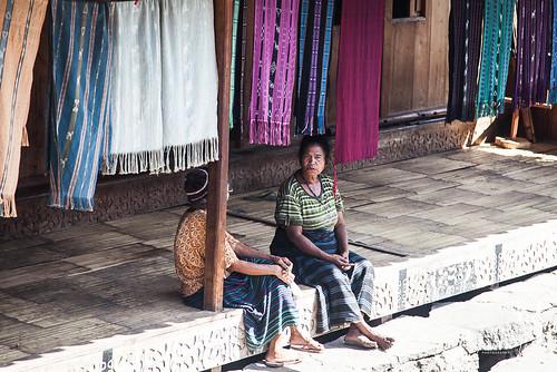 Women chatting, Bena Village, Bajawa, Flores, Indonesia (August 2015)