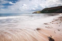 Cayton Bay (djshoo) Tags: summer seascape yorkshire shoreline 2015