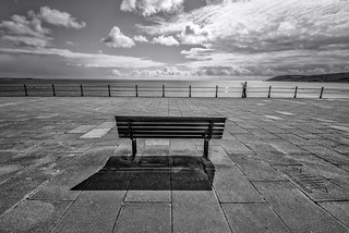 The loneliness of a seaside Photographer