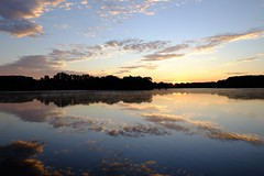 Instant éphémère ----- -° (Titole) Tags: morning reflection clouds sunrise explored bassindetrévoix herowinner titole nicolefaton