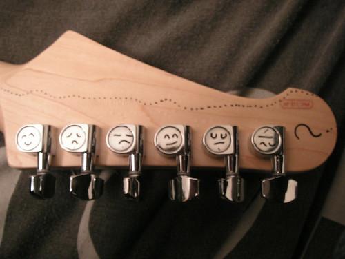 Mécaniques de Guitare électrique