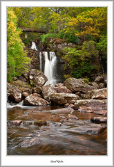 Inversnaid Waterfall (flatfoot471) Tags: autumn landscape scotland waterfall unitedkingdom normal trossachs lochlomond stirlingshire 2014 inversnaid