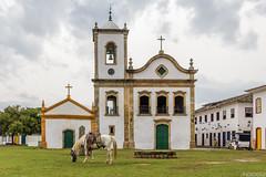 Paraty-RJ (Paulo Nesso) Tags: horse church paraty igreja cavalo fotography