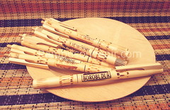 "Pulpen Piring Bambu • <a style=""font-size:0.8em;"" href=""http://www.flickr.com/photos/93041342@N03/21502927865/"" target=""_blank"">View on Flickr</a>"