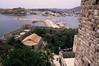 Bodrum (Halicarnassus) - Turkey (jcbkk1956) Tags: castle film stone analog 35mm turkey pentax harbour slide scanned walls manual bodrum battlements halicarnassus worldtrekker